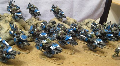 bike blue conversion kroot orks warhammer 40 000