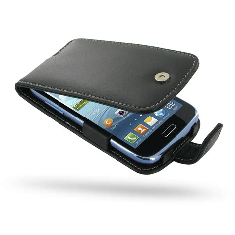 Flipcase Samsung Galaxy Duos I8262 Flipcover Leather Backcase samsung galaxy duos leather flip pdair wallet sleeve pouch