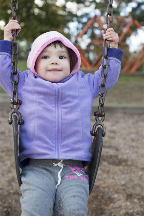 fat girl on swing claira on big girl swing