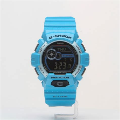 Casio G Shock Gls Black Huruf Blue for casio gls 8900 2d brasty co uk