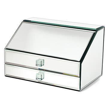 Mirrored Jewelry Box   Unique Jewelry Storage   Z Gallerie