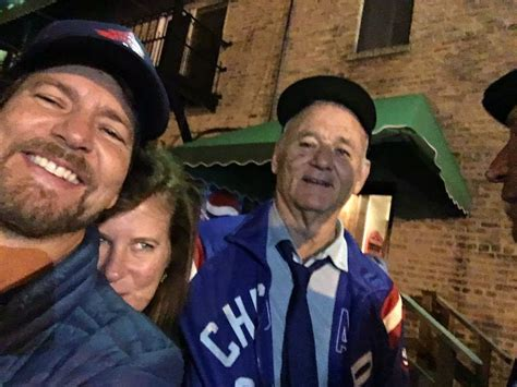 eddie vedder house eddie vedder and bill murray sing the weight at world series house party