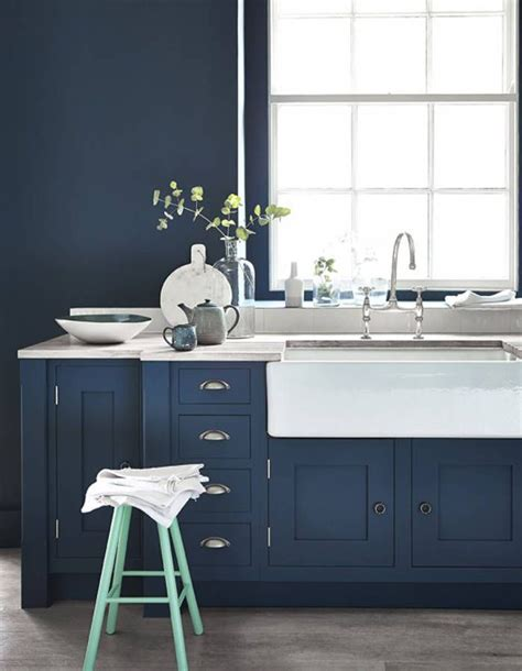 cuisine bleu marine les 25 meilleures id 233 es concernant cuisines bleu marin sur