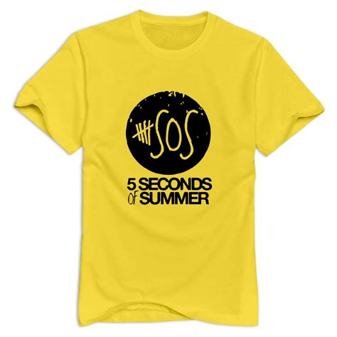 Tshirt 5 Second Of Summer 6 s tshirt 5 seconds of summer sos sleeve t shirt for s holidays 2015 in t