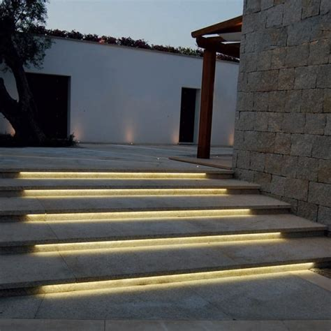 low voltage outdoor step lighting 12 outdoor step lighting ideas for bringing light