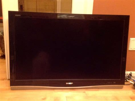 Tv Flat Sharp 42 Inch 42inch Sharp Aquos Flat Screen Tv Esquimalt View Royal