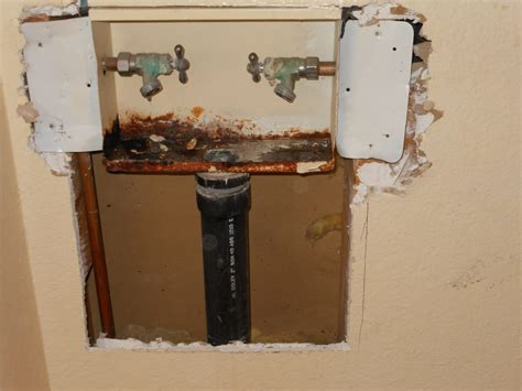 Plumbing Box by Rotten Washing Machine Box Replacement Yelp