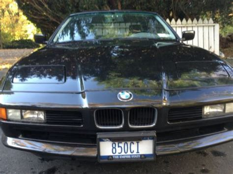 how to work on cars 1997 bmw 8 series navigation system sell used 1997 bmw 850ci 55k orig miles black grey leather mint condition in huntington new