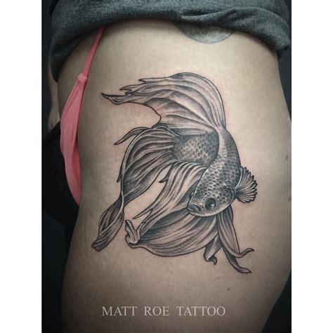 betta tattoo designs fighting fish drawing search work