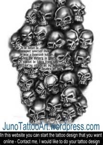 skull tattoos custom tattoos made to order by juno