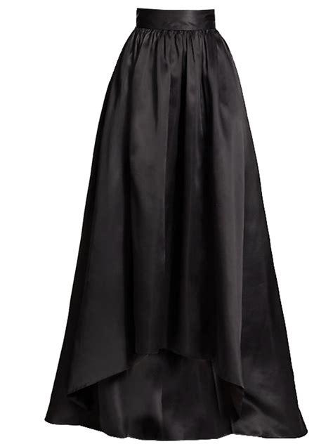 satin maxi asymmetrical skirt various colors elizabeth s