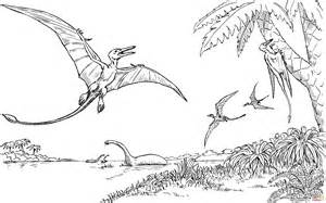 pteranodon coloring pages hard coloring pages