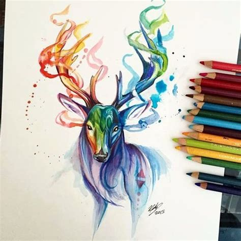 Colored Drawings 40 Color Pencil Drawings To Having You Cooing With Joy by Colored Drawings