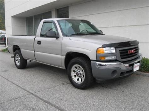 how to work on cars 2005 gmc sierra 3500 engine control used 2005 gmc sierra 1500 work truck regular cab 4x4 for sale stock hm0485c dealerrevs com