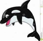 Desenhos Animados Da Orca Fotografia De Stock Royalty Free  Imagem