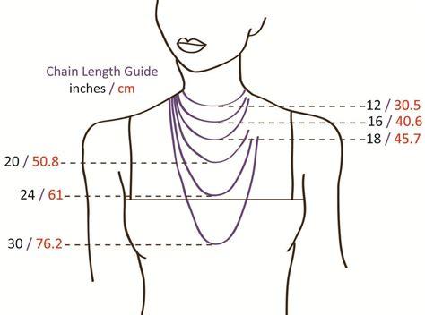 necklace length diagram jim davis designs necklace lengths