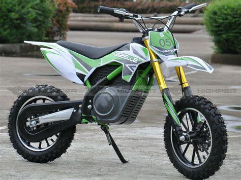 kids electric motocross bike 500w 24v 36v electric mini dirt bike motorcycle for kids