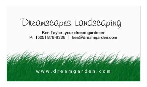 lawn care business cards templates free grass mowing lawn care services business business card