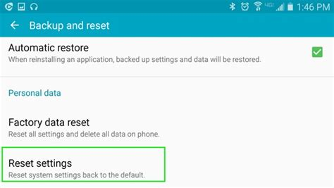 android mobile reset how to reset android without losing data transfer phone