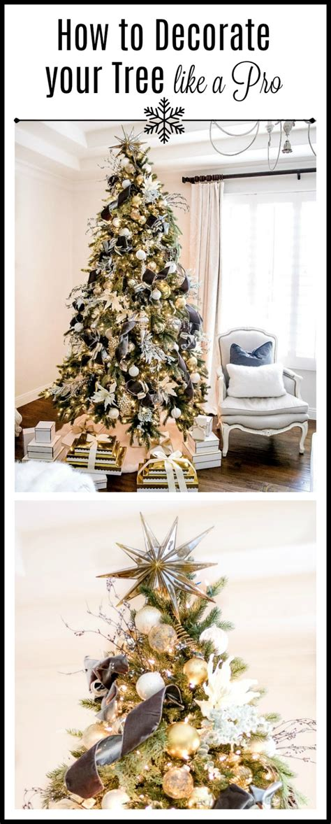 decorate your christmas tree like a professional tips for trimming your tree like a pro randi garrett design