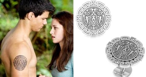 twilight jacob black tattoo twilight wolf tattoo symbol jewelry available from bed