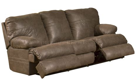 Chocolate Faux Leather Fabric Modern Ranger Sectional Sofa