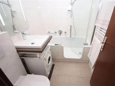 Kleines Bad Einrichten Waschmaschine by Kleines Bad Ganz Gro 223 Badezimmer