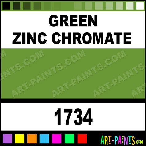 green zinc chromate model acrylic paints 1734 green zinc chromate paint green zinc chromate
