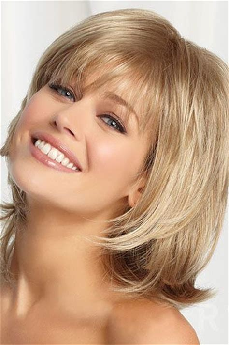 hairstyles with minimal bangs 177 best layered bob hairstyles images on pinterest hair