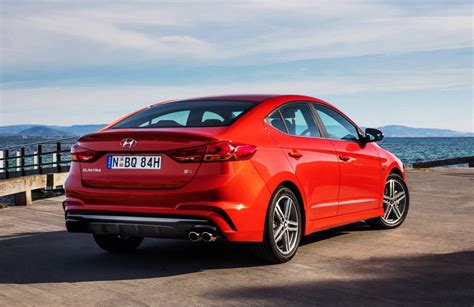 hyundai elantra rear suspension 2017 hyundai elantra sr turbo on sale in australia from