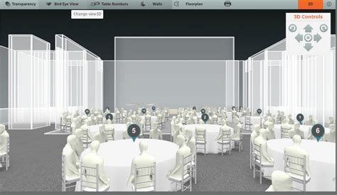 wedding reception layout tool key component in your