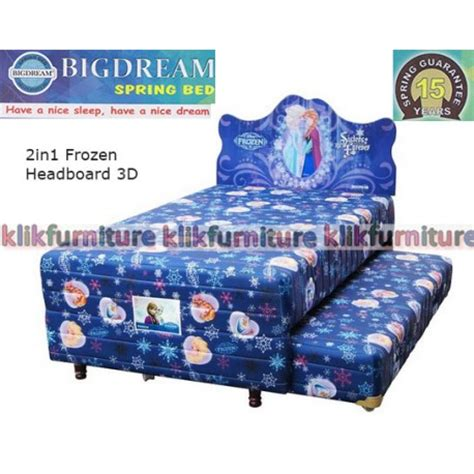 Ranjang Bigland Frozen bigdream bed 2in1 anak frozen harga distributor