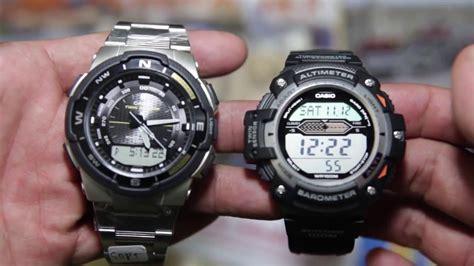 Casio Out Gear Sgw 500h 1bv casio outgear sgw 500hd 1bv vs casio sgw 300h 1av