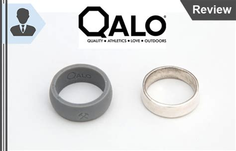 Wedding Ring Qalo by Qalo Review Convenient Durable Silicone Wedding Rings