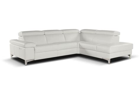 nicoletti sectional nicoletti megan sectional sofa with electric recliner