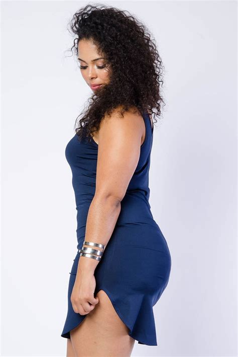 Hq 9683 Studded Bodycon 1880 best images about plus model tabria majors on shops rompers and surplice dress