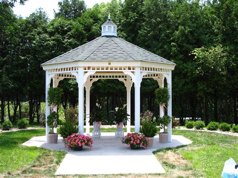 white gazebos are not just for weddings they really are a