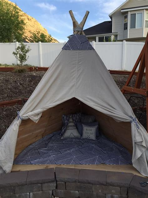 backyard teepee build an outdoor teepee in a day for about 150 studios