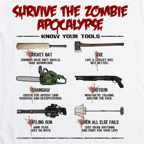 zombie with both wrench and zombie apocalypse or flu unload and unwind