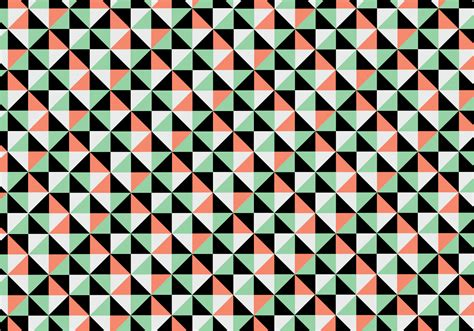 shape pattern background coral and teal shape background vector download free