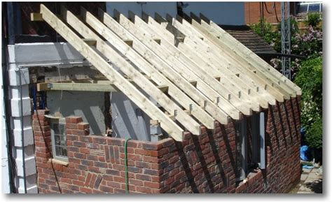 Extension Roof Construction Multibeam Eaves Beam Construction Details Images Frompo