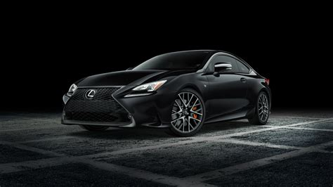 lexus rc   sport black   wallpaper hd car