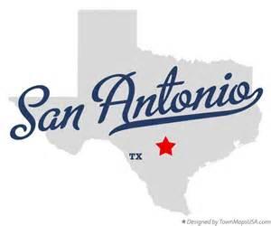 Tx Images Map Of San Antonio Tx