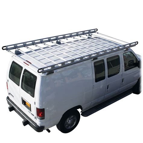 Ford Roof Rack by Vantech H2 Ford Econoline Aluminum Roof Rack System