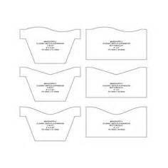 folding wallet card template trucker wallet pattern leather patterns