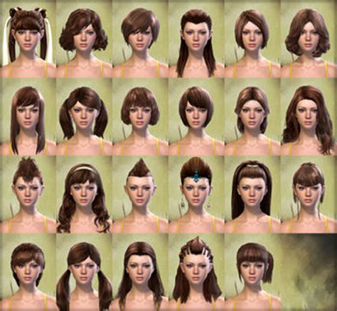 gw2 human hairstyles physical appearance human guild wars 2 wiki gw2w