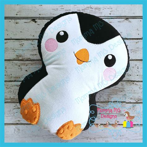 meet palmer penguin a doll sized softie or christmas penguin softie