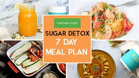 Further Foods Sugar Detox by Sugar Detox 7 Day Meal Plans Further Food