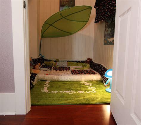 Toddler Bed Mattress Floor Yep My Kid Still Sleeps In A Closet Our Post Crib