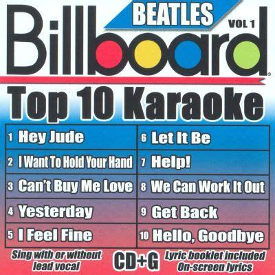 billboard top  karaoke  beatles vol  karaoke
